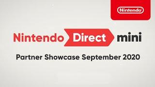 Nintendo Direct Mini: Partner Showcase September 2020