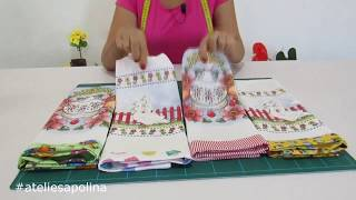 Transformando panos de pratos simples