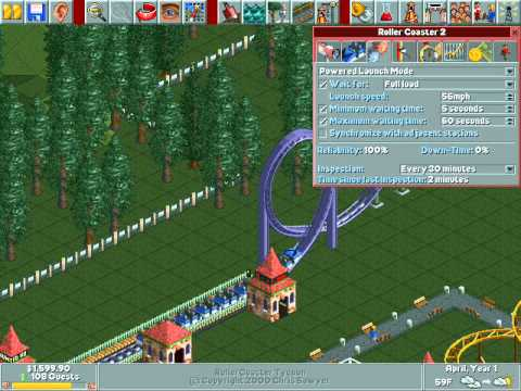 Lets Play Roller Coaster Tycoon - 1 - (Our First Park!)