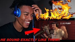 REACTION: 20 Styles of Rapping! (LOGIC, 6IX9INE, XXXTENTACION) QuadecaX8