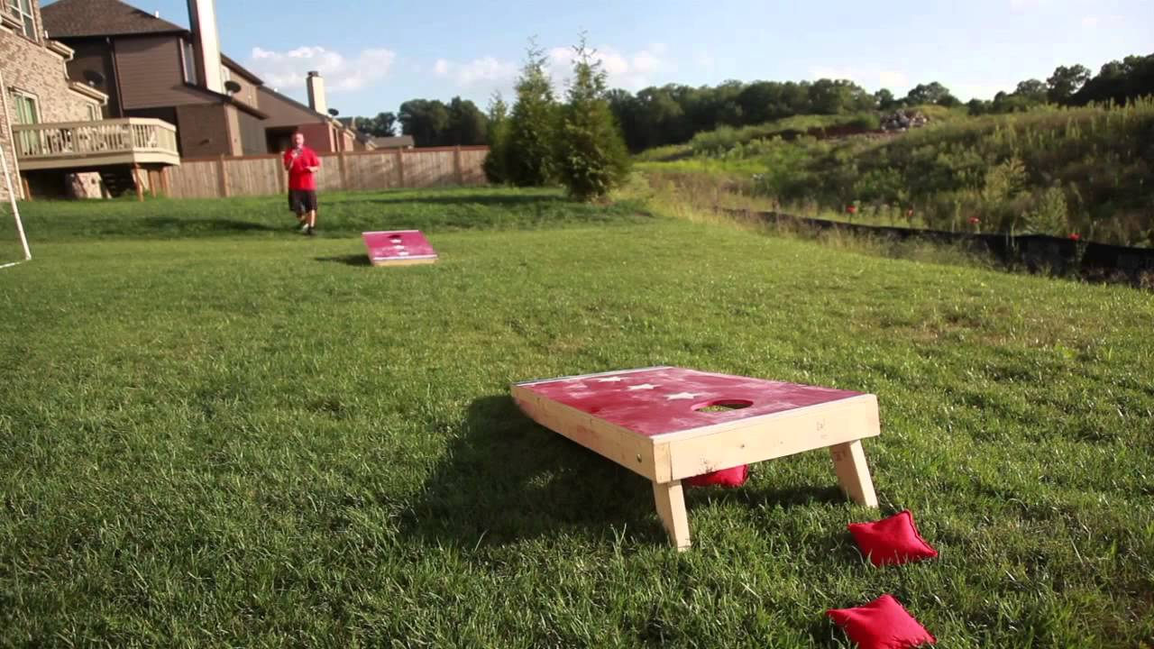 How To Have A Better Toss Corn Hole Bean Bags Tossing Tips You