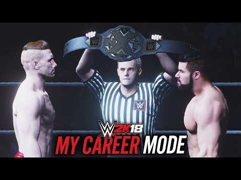 WWE 2K18 My Career Mode - Ep 4 - NXT CHAMPIONSHIP MATCH!!