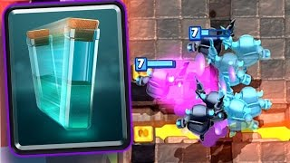clash royale clone spell new card gameplay