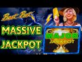 HIGH LIMIT Lighting Link Best Bet MASSIVE HANDPAY JACKPOT ~ $50 Bonus Rounds Slot Machine Casino