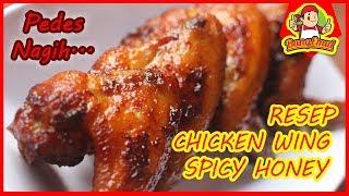 Cara membuat Spicy Chicken Wings - Resep Spesial Pake Madu