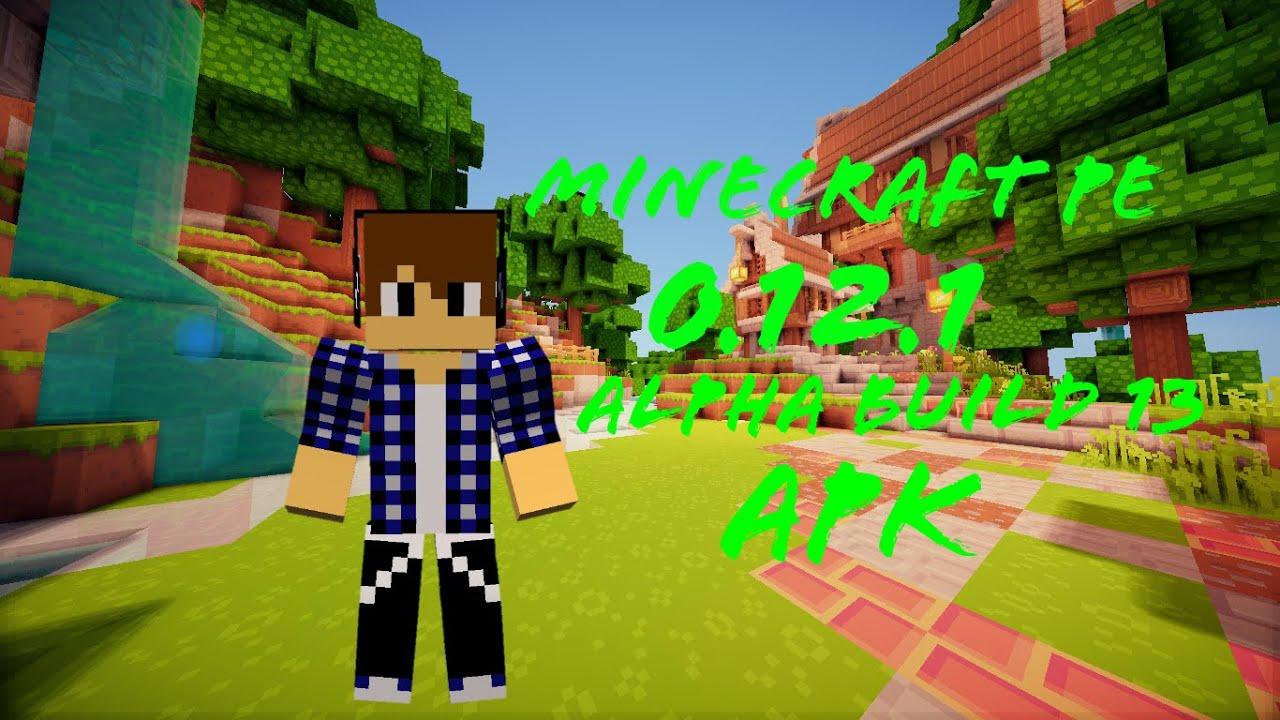 Minecraft pe alpha build 1 скачать на айфон