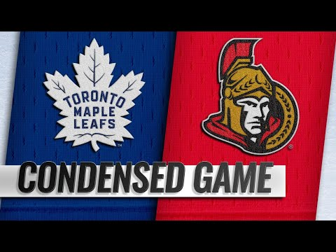 09/19/18 Condensed Game: Maple Leafs @ Senators
