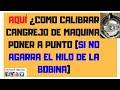 CALIBRANDO EL CANGREJO DE MAQUINA DE COSER DOMÉSTICA