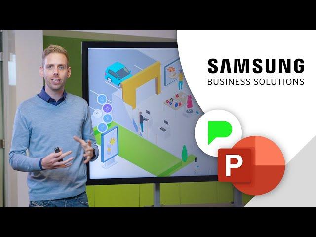 Indrukwekkende bedrijfspresentatie Samsung | Portfolio | PPT Solutions