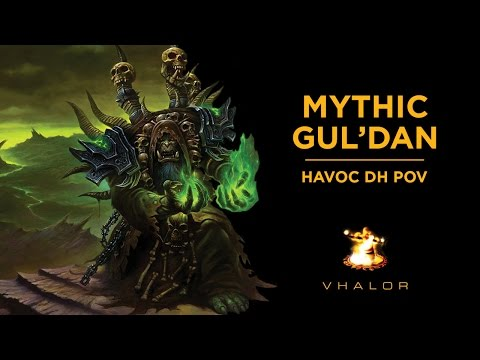 OE v. Mythic GUL'DAN (US#111) — HAVOC Demon Hunter PoV — 1080p HD 60 FPS