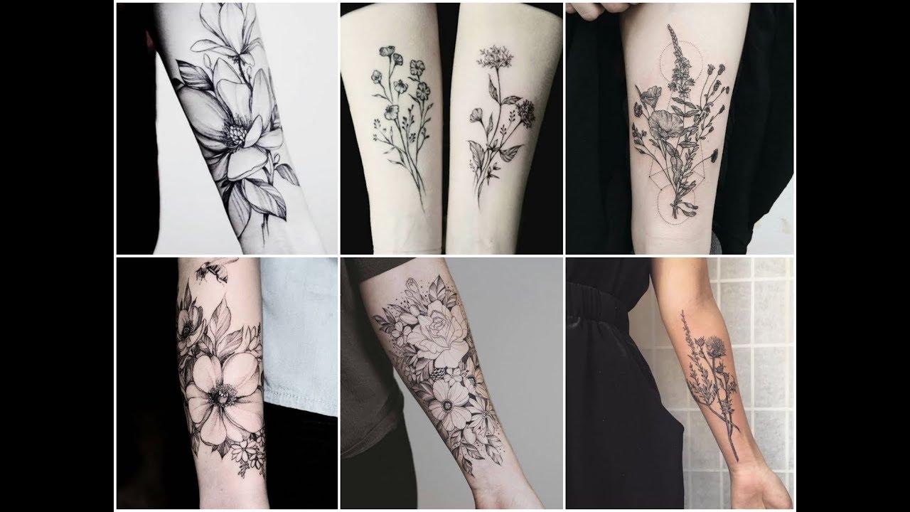Beautiful Botanical Tattoos By Salem Witch Descendant: Perfect Botanical Ink Tattoo Design Ideas