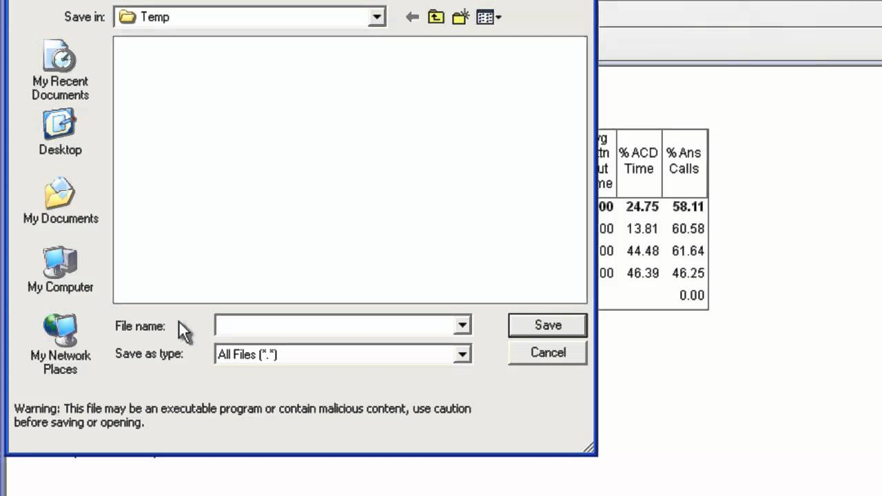 How to export an Avaya CMS Supervisor Web Report to CSV format - YouTube