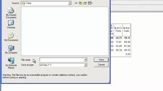How to export an Avaya CMS Supervisor Web Report to CSV format