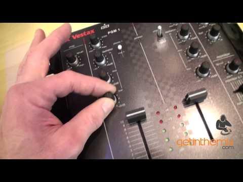 Vestax VMC-002XLu DJ Mixer with DJ Tutor @ getinthemix.com