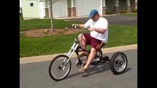 Chopper Pedal  Bikes For Fat Guys