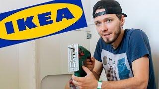 КАК СОБРАТЬ КУХНЮ IKEA(Подписывайтесь на канал и смотрите нас каждый день!!! =) http://CAMvsMAN.com Instagram Майка: http://instagram.com/camvsman Instagram Алисы:..., 2016-05-16T11:36:36.000Z)