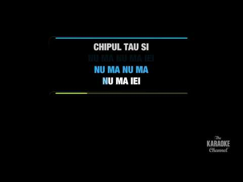 "Dragostea din tei in the Style of ""O-Zone"" karaoke video with lyrics (no lead vocal)"