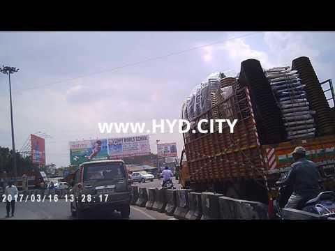 Full Video of LB Nagar Area in HYderabad