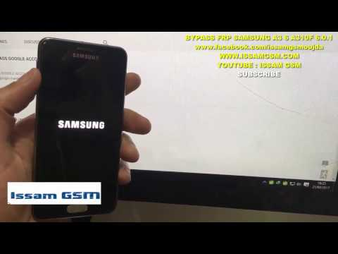 HOW REMOVE FRP A310F Samsung Galaxy A3 6 VERSION 6.0.1 MARSHMALLOW , BYPASS GOOGLE ACCOUNT
