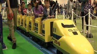 【ドクターイエロー】プラレール博 in ナガシマスパーランド 2013 Plarail Expo thumbnail