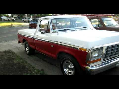 1976 Ford F 100 Short Bed Youtube