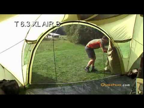 Quechua T6 3 Xl Air B Youtube