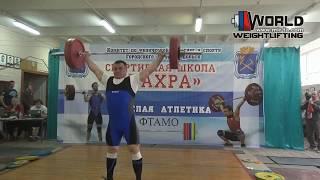 МАКАРОВ/MAKAROV(105) 125-130х-135х/160-170-175. Championship of Moscow region 05-06.05.2018.