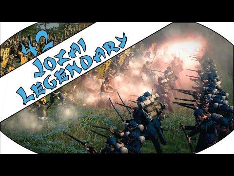 TOSA VS TOSA - Jozai (Legendary) - Total War: Shogun 2 - Fall of the Samurai - Ep.42!