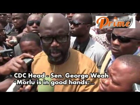 CDC MORLU BOWS TO THE POLICE