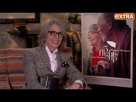Watch Diane Keaton's Hilarious Reaction When We Asked About Her Long-Lasting Beauty