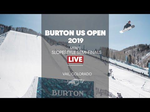 FULL SHOW - Burton US Open Men's Slopestyle Semi-Finals