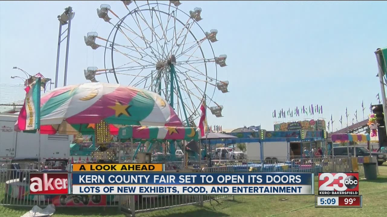 Kern County Fair to open door with new exhibits & Kern County Fair to open door with new exhibits - YouTube
