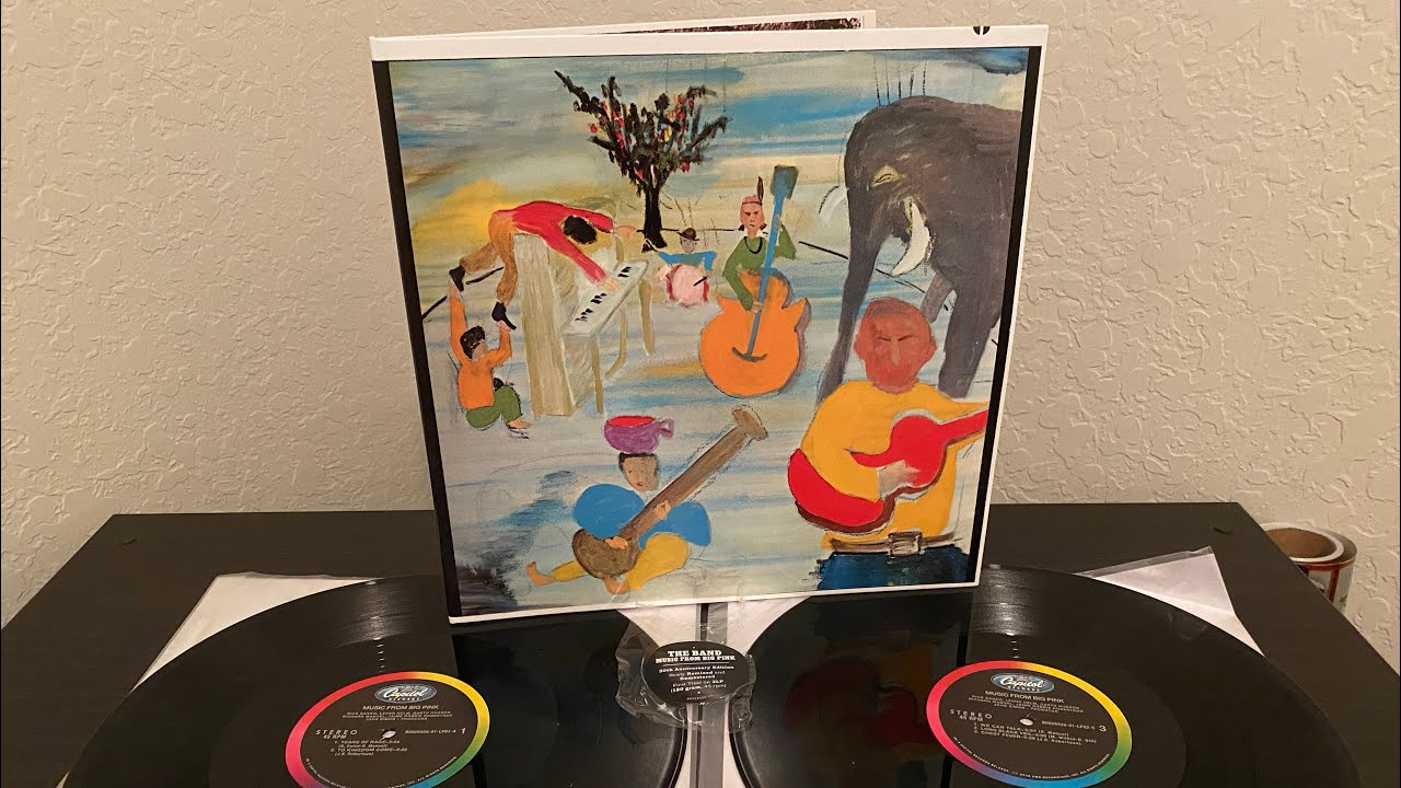 Vinyl Unboxing The Band Music From Big Pink 1968 2018 50th Ann 45rpm 2xlp Capitol B0028420 1 Youtube