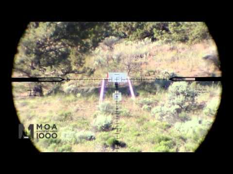Nightforce Scope SHV 4-14x MOA 1000 Reticle - Long Range Hunting -