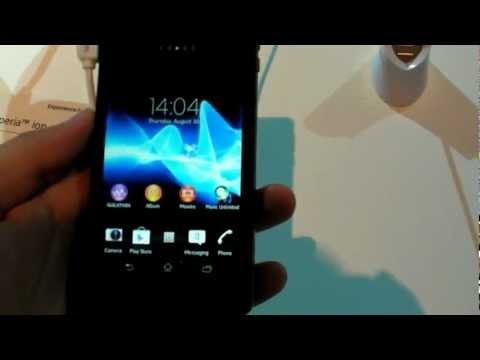 Kurzes Hands-On: Sony Xperia V