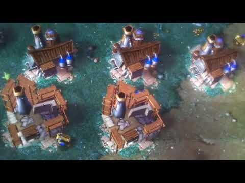 Warcraft 3 frozen throne Tank special 4v4