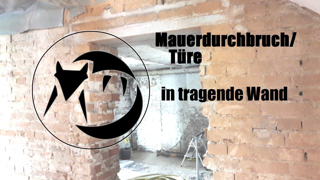 Top Mauerdurchbruch/Türe in tragende Wand - YouTube FB13