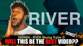 Eminem - River (Trailer: Boxing) REACTION!!!