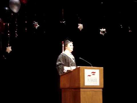 Jason Schmidt Grad speech 2009