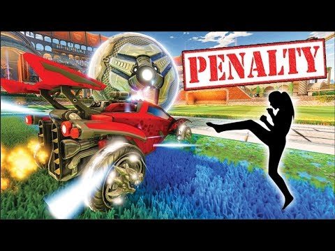 THE ULTIMATE ROCKET LEAGUE PENALTY KICK CHALLENGE!