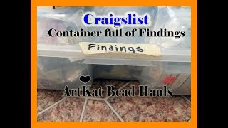 craigslist vintage beading haul Findings and more Part 6