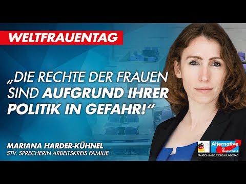 Die Rechte der Frauen sind aufgrund Ihrer Politik in Gefahr! - Mariana Harder-Kühnel - AfD