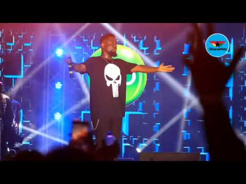 Sarkodie's first performance after Shatta Wale diss