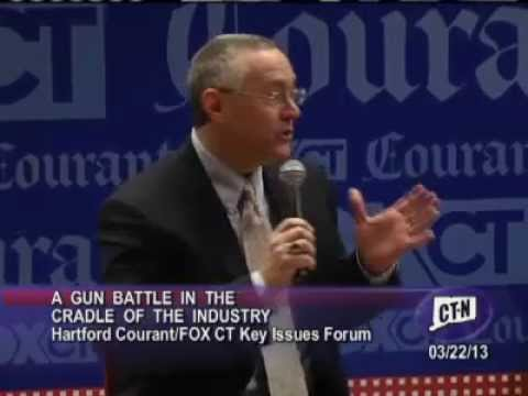 Connecticut Gun Control Key Issue Forum on 03/22/2013 with Joe Bartozzi & Mike Lawlor