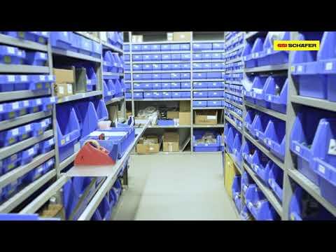 Flexibel mitwachsende Logistiklösungen für reichelt elektronik | SSI SCHÄFER