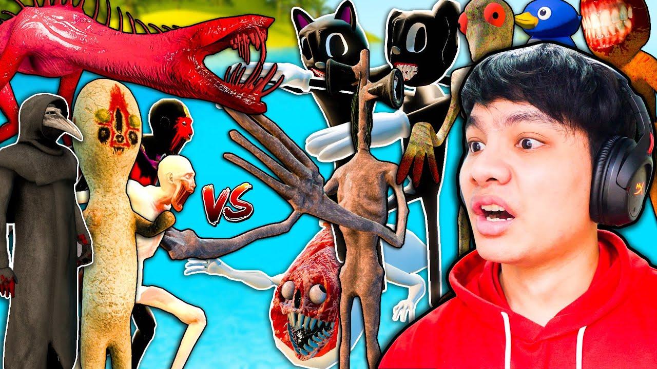 SCP VS แก๊งผีเปรตสู้กัน 1ต่อ1 ใครจะชนะ?