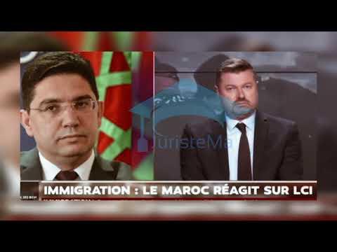 مداخلة وزير الخارجية المغربي #ناصر_بوريطة في قناة فرنسية حول الأزمة الحالية بين المغرب وإسبانيا