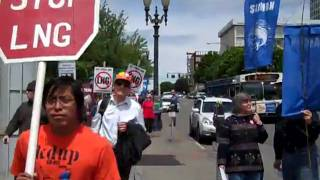Northwest Natural Gas Protest