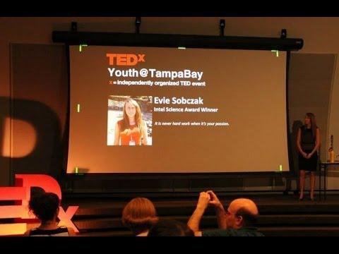 Algae to Biofuel: Evie Sobczak at TEDxYouth@TampaBay 2013
