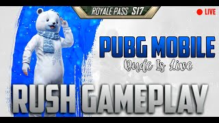 🔴DAY #1 PUBGM LIVE SEASON 17 SQUAD CONQUEROR | PUSH GOLD TO CONQUEROR PUSH